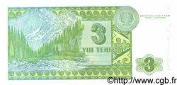 3 Tengé KAZAKHSTAN  1993 P.08a NEUF