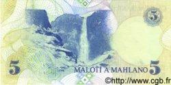 5 Maloti LESOTHO  1989 P.10 NEUF