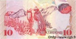 10 Maloti LESOTHO  1990 P.11 NEUF