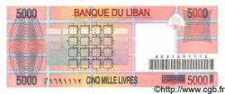 5000 Livres LIBAN  1995 P.71 NEUF