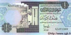 1/2 Dinar LIBYE  1991 P.58c NEUF