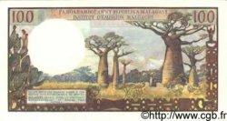 100 Francs/ 20 Ariary MADAGASCAR  1966 P.57 NEUF