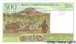 500 Francs - 100 Ariary MADAGASCAR  1994 P.75a NEUF