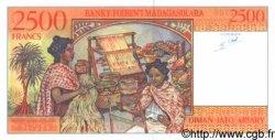2500 Francs - 500 Ariary MADAGASCAR  1998 P.81 NEUF