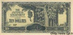 10 Dollars MALAISIE  1942 P.M07b pr.NEUF
