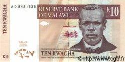 10 Kwacha MALAWI  1997 P.37 pr.NEUF
