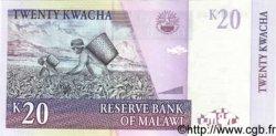 20 Kwacha MALAWI  1997 P.38 NEUF