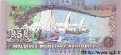 5 Rufiyaa MALDIVES  1998 P.20 NEUF