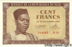 100 Francs MALI  1960 P.02 pr.NEUF