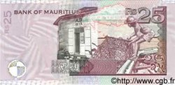 25 Rupees ÎLE MAURICE  1999 P.42v NEUF