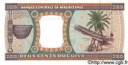 200 Ouguiya MAURITANIE  1996 P.05g NEUF
