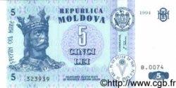 5 Lei MOLDAVIE  1994 P.09a NEUF