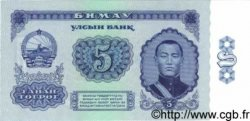 5 Tugrik MONGOLIE  1966 P.37 NEUF