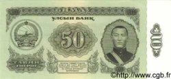 50 Tugrik MONGOLIE  1966 P.40 pr.NEUF