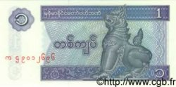 1 Kyat MYANMAR  1996 P.69 NEUF