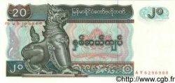 20 Kyats MYANMAR  1994 P.72 pr.NEUF