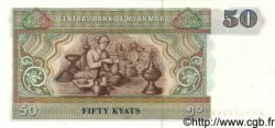 50 Kyats MYANMAR  1997 P.73b NEUF
