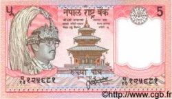 5 Rupees NÉPAL  1987 P.30a