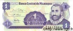 1 Centavo De Cordoba NICARAGUA  1991 P.167