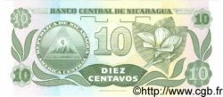 10 Centavos De Cordoba NICARAGUA  1991 P.169 NEUF