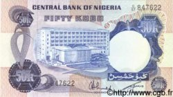 50 Kobo NIGERIA  1973 P.14f NEUF