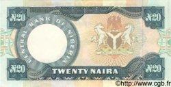20 Naira NIGERIA  1984 P.26e SPL