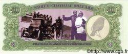 3 Dollars NOUVELLE-ZÉLANDE  1999 P.- NEUF
