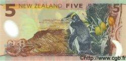 5 Dollars NOUVELLE-ZÉLANDE  1992 P.185 NEUF