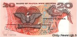 20 Kina PAPOUASIE NOUVELLE GUINÉE  1981 P.10b NEUF