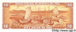 10 Soles de Oro PÉROU  1976 P.112 NEUF
