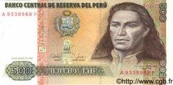500 Intis PÉROU  1987 P.134b