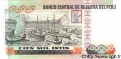 100000 Intis PÉROU  1989 P.145