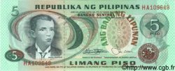 5 Piso PHILIPPINES  1970 P.148a NEUF