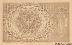 1000 Marek POLOGNE  1919 P.022b