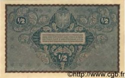 1/2 Marki POLOGNE  1920 P.030