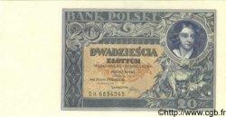 20 Zlotych POLOGNE  1931 P.073