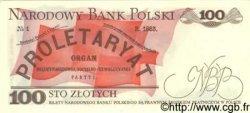 100 Zlotych POLOGNE  1988 P.143c NEUF