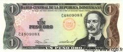 1 Peso Oro RÉPUBLIQUE DOMINICAINE  1984 P.126a