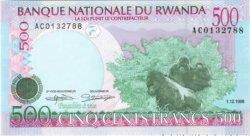 500 Francs RWANDA  1998 P.26 NEUF