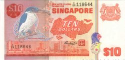10 Dollars SINGAPOUR  1976 P.11b NEUF