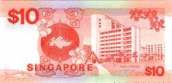 10 Dollars SINGAPOUR  1988 P.20 NEUF