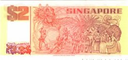 2 Dollars SINGAPOUR  1990 P.27