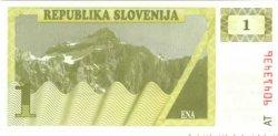1 Tolar SLOVÉNIE  1990 P.01 NEUF