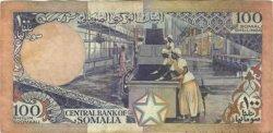 100 Shilin SOMALIE RÉPUBLIQUE DÉMOCRATIQUE  1987 P.35b TTB