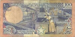 100 Shilin SOMALIE RÉPUBLIQUE DÉMOCRATIQUE  1988 P.35c TTB