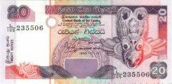 20 Rupees SRI LANKA  1995 P.109 NEUF