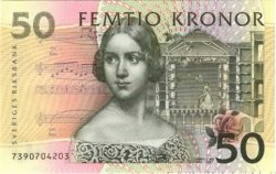 50 Kronor SUÈDE  2000 P.62a NEUF