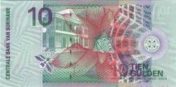 10 Gulden SURINAM  2000 P.057