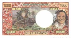 1000 Francs TAHITI  1970 P.27c NEUF