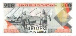 200 Shilingi TANZANIE  1993 P.25 NEUF